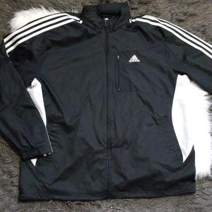 Adidas Windbreaker Jacket with Hidden Hood